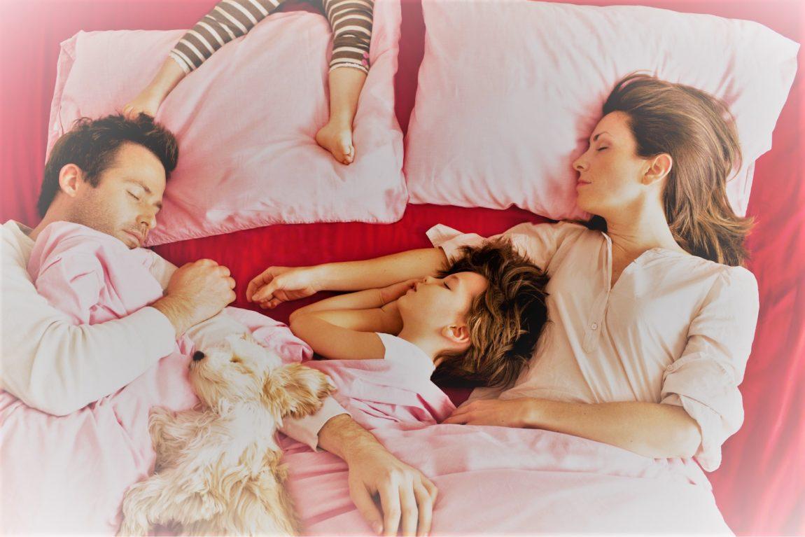 Как да отучим детето да спи в леглото на родителите